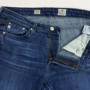 AG Adriano Goldschmied Prima Mid Rise Cig Jeans